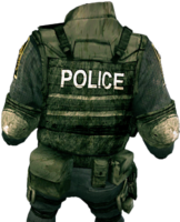 Dead rising Swat Outfit 2 back