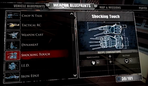 Shocking Touch Blueprint