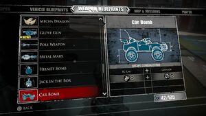 Car Bomb Blueprints