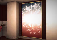 Dead rising American Historium fireworks painting