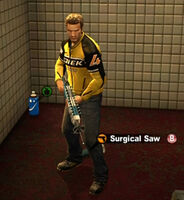 Dead rising surgical saw name