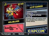 Dead rising 2 combo card Heliblade