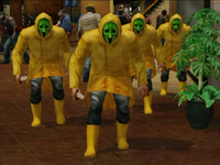 Dead rising raincoat cult