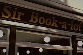 Sir-Book-a-lot PP Sticker