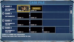 Case 2-1 off the record cure-ious information stacey has some new