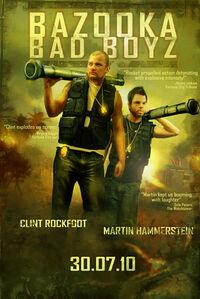 Combo card poster bazooka bad boys