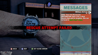 Dead rising above the law resuce attempt failed