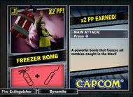 Dead rising 2 combo card Freezer Bomb