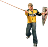 Dead rising training sword combo 2