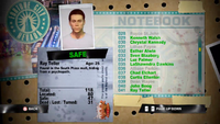 Dead Rising ray notebook