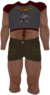 Dead rising Red and Grey Ratman T-shirt with Brown Shorts