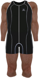 Dead rising Black and White Spandex Track Suit