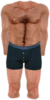 Dead rising Shirtless with Blue Boxers and Barefoot