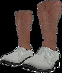 Dead rising White Dress Shoes