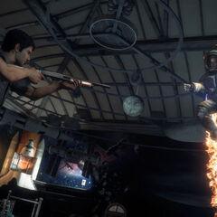 Диего атакует Ника