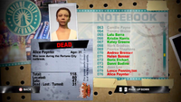 Dead Rising alice notebook