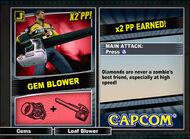 Dead rising 2 combo card Gem Blower