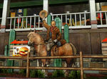 Dead rising pp food court cowboy cut out