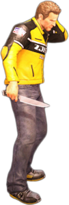 Dead rising chef knife holding
