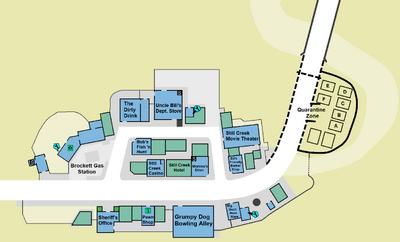 Case zero first floor map