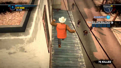 Dead rising 2 case 0 bobs running across roof (8)