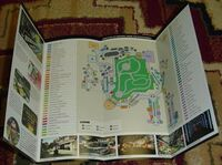 Dead Rising 1 Promo Item - Parkview Mall Brochure Map map
