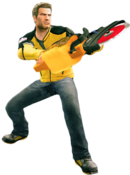 Dead rising cement saw combo