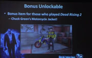 Dead rising 2 off the record chuck's jacket
