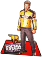 Dead rising Cardboard Cutout - Chuck Greene