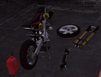 Dead rising 2 case 0 case 0-4 bike parts missing engine