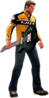 Dead rising electric guitar holding