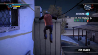 Dead rising 2 case 0 mommas diner roof to bobs (11)