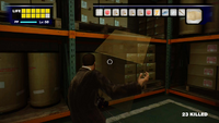 Dead rising warehouse cardboard box opening
