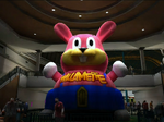 Dead rising wonderland plaza rabbit balloon at dusk north