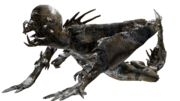 Snow leaper render