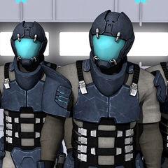 Охранники в Dead Space: Aftermath