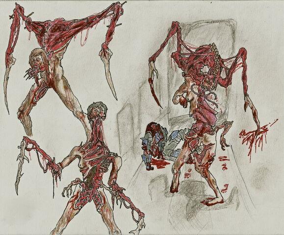 File:Necromorph spitters by dismemberednecromorf-d589zua.jpg