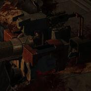 Dead space line gun
