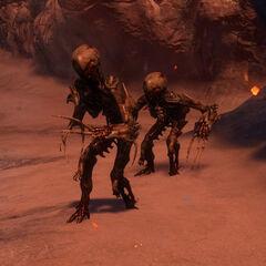 Свора в Dead Space 3 Awekened.