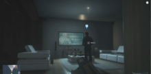 Henchman playing Dead Space in episode 7