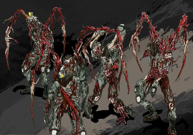 File:Necromorph miners by dismemberednecromorf-d5hmxm3.jpg