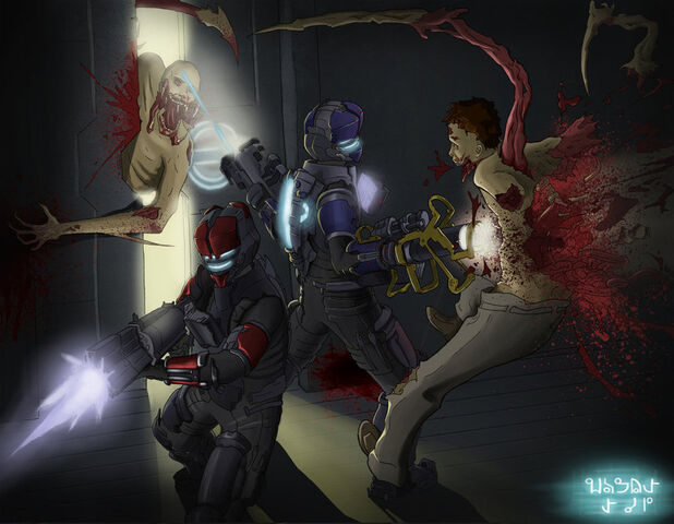 File:Dead space cleaning up by azurechris-d4p088g.jpg