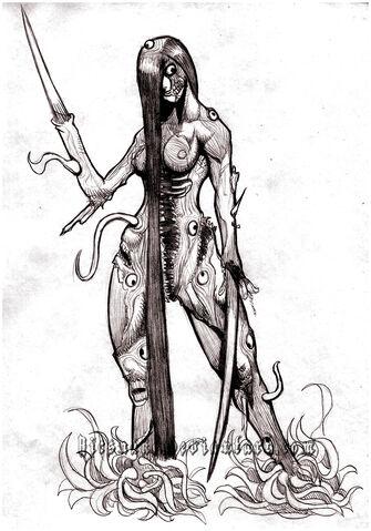 File:Female necromorph by ricsnake-d4blz90.jpg