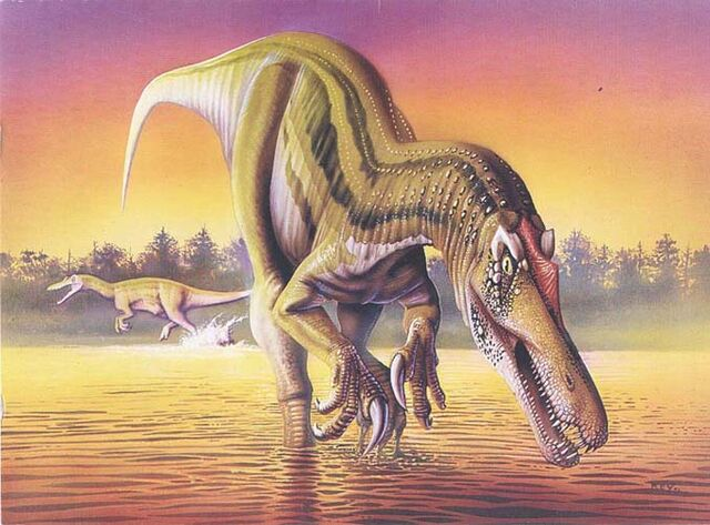 File:Baryonyx/Suchosaurus.jpg