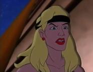 Mortal Kombat - Sonya Blade as she appears in the Mortal Kombat Cartoon