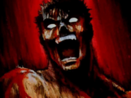 Berserk - Guts yelling and going berserk