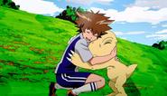 Tai & Agumon in Digimon Adventure Tri