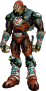 The Legend of Zelda - Ganondorf as seen in Ocarina of Time