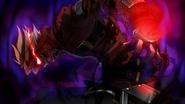 BlazBlue - Ragna gradually turns into The Black Beast