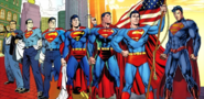 DC Comics - Superman's forms over the decades